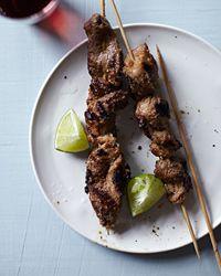 Pork Satay Recipe on Food & Wine