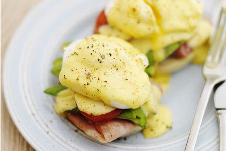 Super healthy Eggs Benedict   Healthy Breakfast   Pinterest