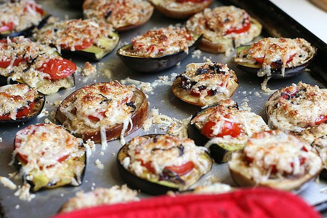 ... -food recipes and really good desserts » Grilled Eggplant Parmesan