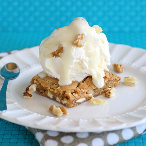 Maple Walnut Blondie | Recipe