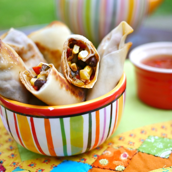 Southwestern Egg Rolls | Fun Food | Pinterest