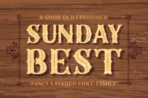 Sunday Best Complete Layered Font Family - Rustic Elegance - OpenType ...: pinterest.com/pin/272678952413159352