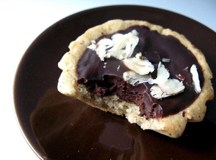 Hazelnut Chocolate Tart | Recipes | Pinterest