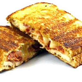 turkey and swiss panini the smoked turkey and bacon panini with swiss ...