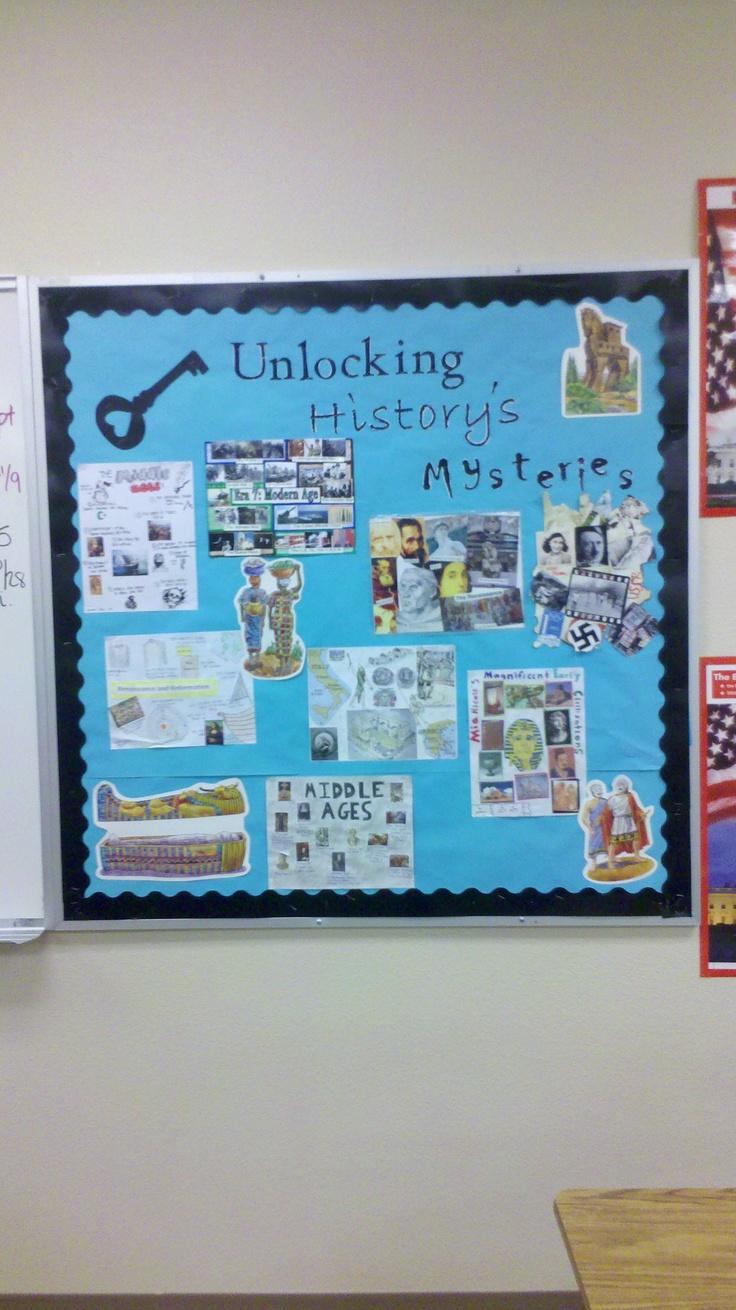 World History Bulletin Board Social Studies Pinterest