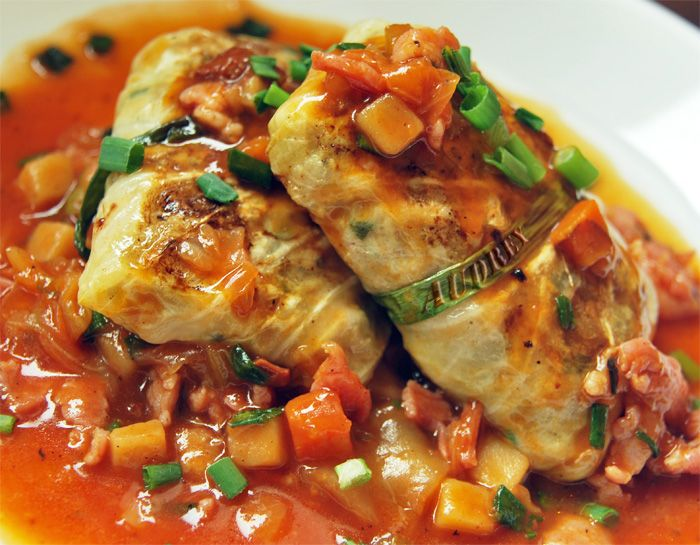 Pork Stuffed Cabbage Rolls Recipes — Dishmaps