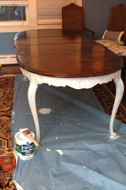dining table refinish dining table paint