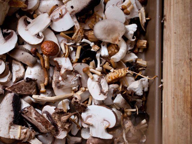 Roasted Mushroom Quinoa Risotto | Recipe