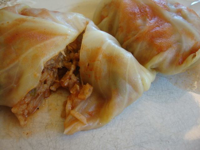 Stuffed Cabbage Rolls. I'm not vegan but I love a good meatless meal ...