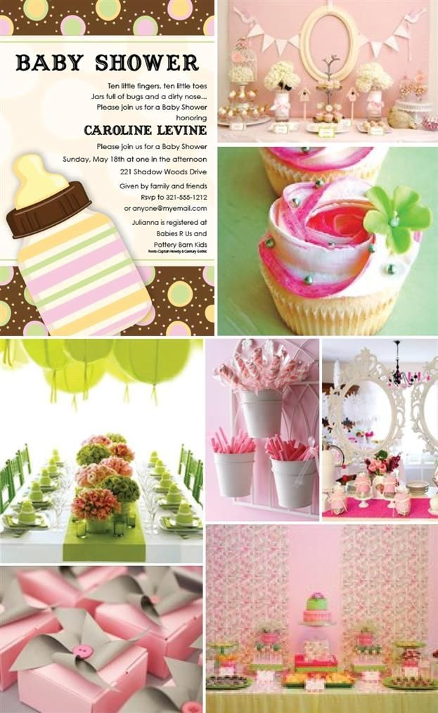 good ideas baby shower pinterest
