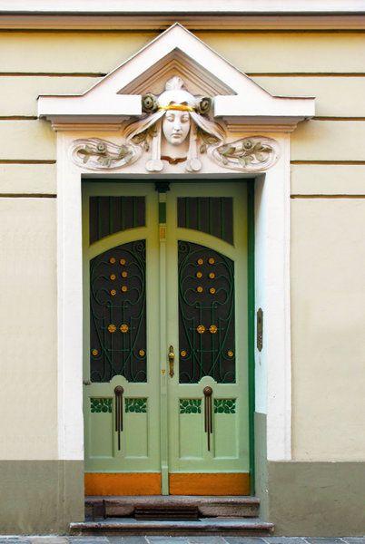 Arts And Crafts Style Door Doorways Pinterest
