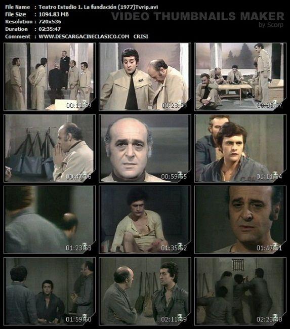 Captura. Teatro. La Fundación (1977)