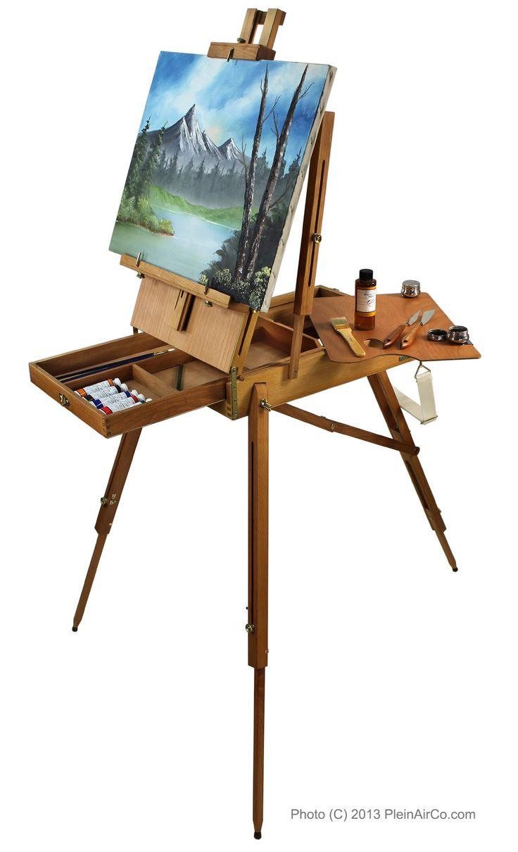 PleinAirCo French Artist Easel | Drawing and Painting ... Мольберт Художник