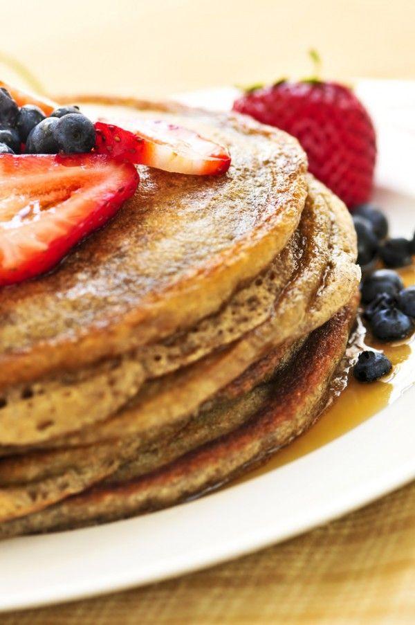 wheat berry pancakes recipe a delicious overnight whole wheat pancake ...
