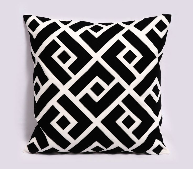 Black and White Pillow Cover Decorative Pillows by Pillowation, $45.00 For the Home Pinterest