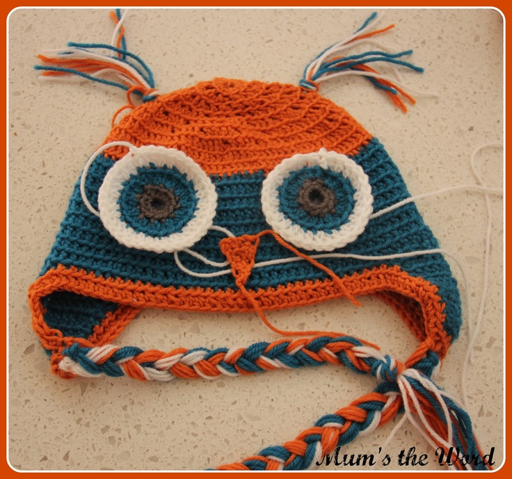 Teach Yourself how to Crochet Online! giggle and hoot owl beanie! love ...