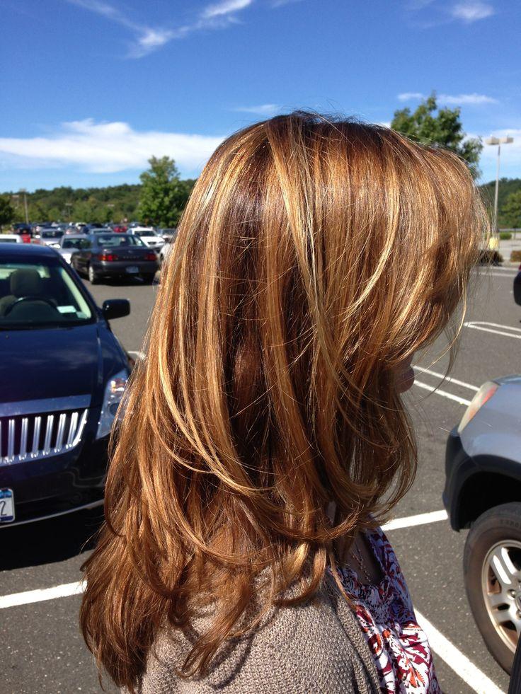 Hair Color Foils