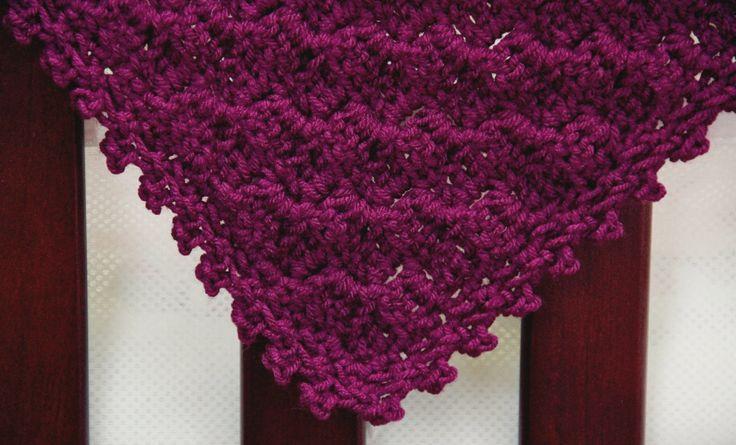Crochet Pattern Diagonal Afghan : Baby CROCHET PATTERN Blanket Afghan Build-A-Diagonal-Shell