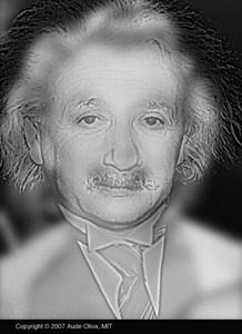 Prueba de miopía ¿Ves a Einstein o a Marilyn?