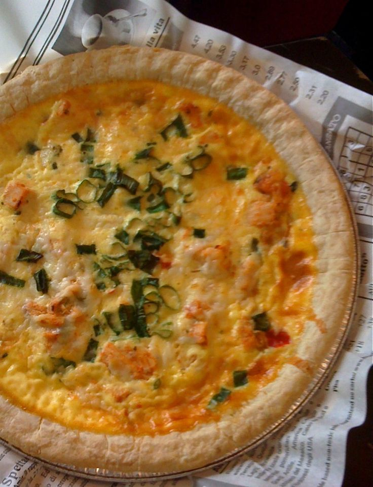 Buffalo chicken quiche for The best quiche ever
