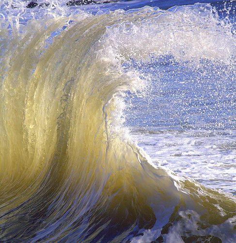 Taffy Wave - love the color and the movement!