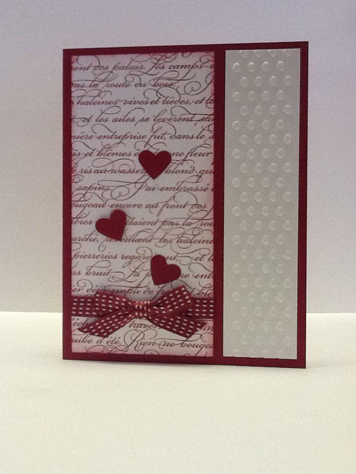 valentine card handmade