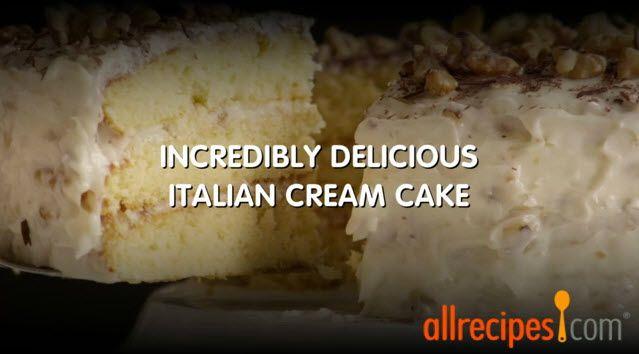 ... .com/video/3151/incredibly-delicious-italian-cream-cake/detail.aspx