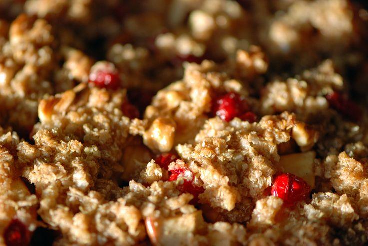 Apple Cranberry Crumble | Thanksgiving | Pinterest