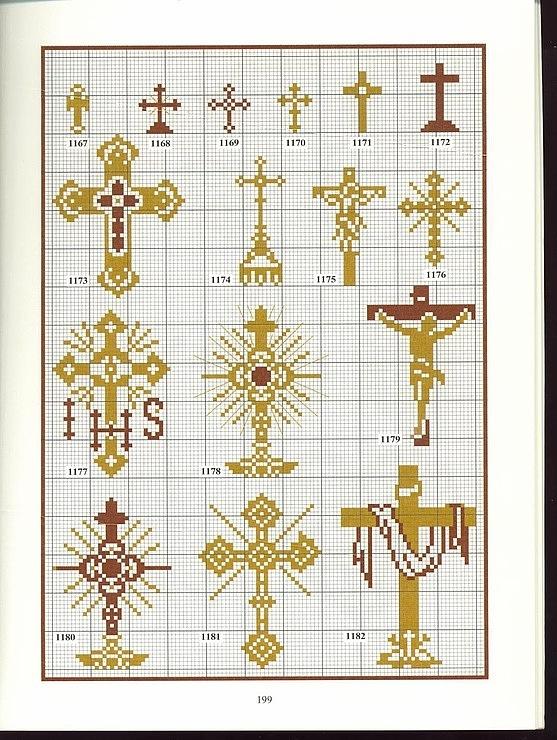 Www крест схемы вышивки 850