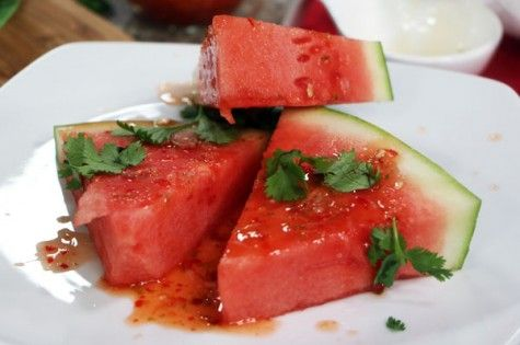 Grilled spicy watermelon | Yummy | Pinterest