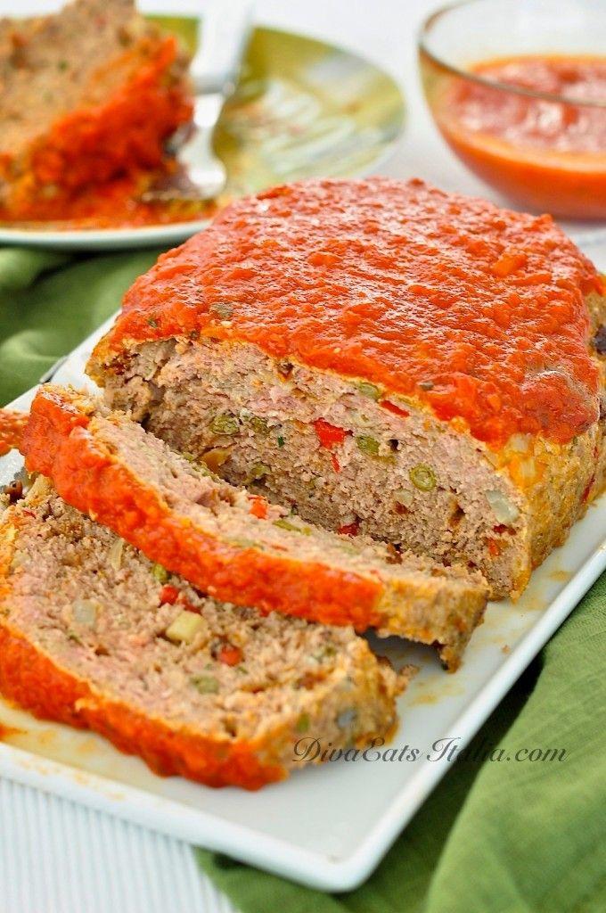 Italian Meatloaf | Meatloaf Recipes | Pinterest