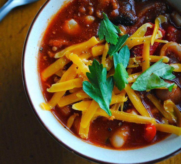 Three-Bean Beef Chili | Soup/Chili/Stew | Pinterest