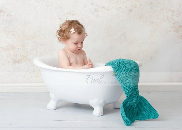 baby in a bathtub with a mermaid tail inspiration pinterest. Black Bedroom Furniture Sets. Home Design Ideas