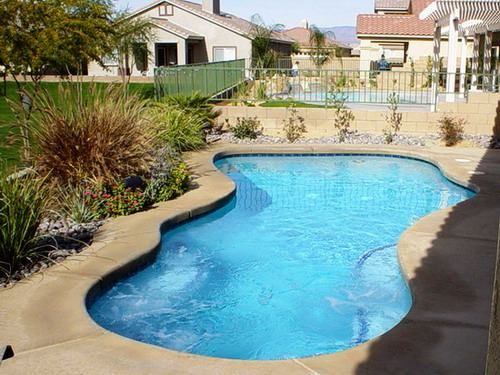 Pin by anita andreuccetti on pools pinterest for Pool garden nice