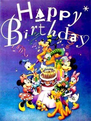 cute mickey wishes happy - photo #21