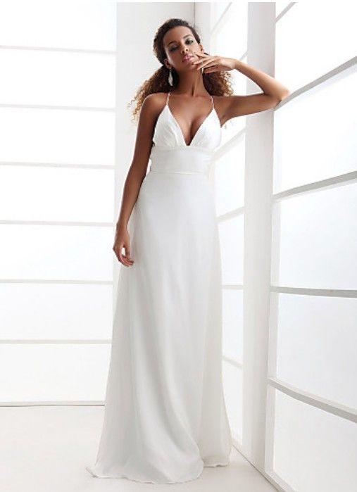 Wedding Dresses For A Beach Ceremony : Beach wedding dress dresses