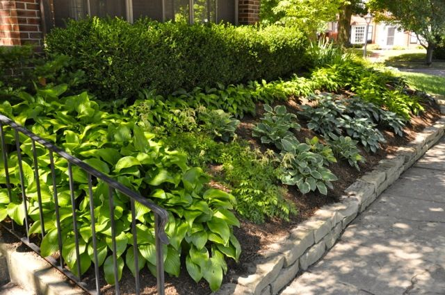 Easy maintenance beds landscaping ideas landscaping for Easy to maintain landscaping