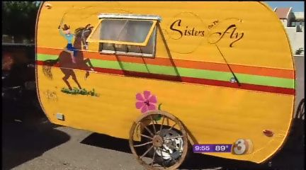 Sisters on the Fly - nice article in an Arizona media outlet