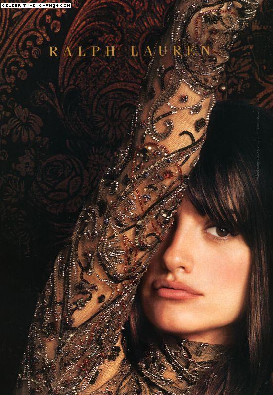 Love this lace, the design, the colour. Penelope Cruz for Ralph Lauren. via Ruth Bright Carrol