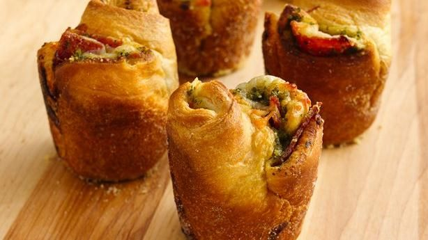 Pepperoni-Pesto Popovers | Great Recipes | Pinterest