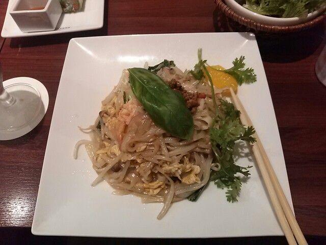 Papaya Leaf- Green Curry Pad thai $ 14.80 http://alike.jp/restaurant ...