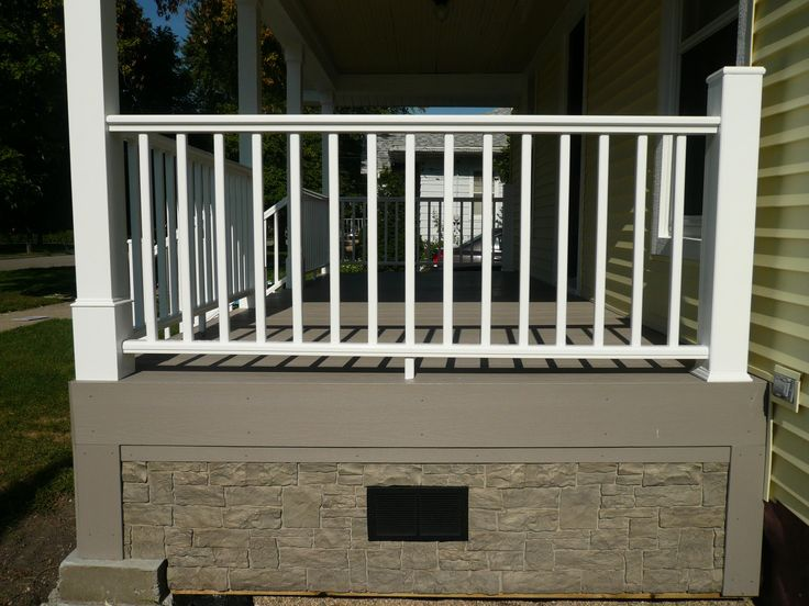 Deck Skirting Materials : Deck designs skirting