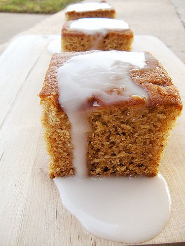 Honey and Beer Spice Cake | Recipes | Pinterest