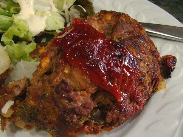 Vegetable Soup Meatloaf. A vintage recipe that is really really good!