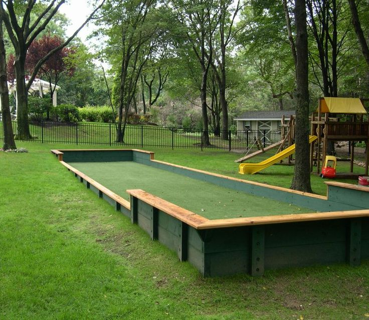 bocce ball court bocca ball pinterest