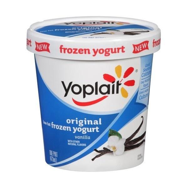 Yoplait Original Low Fat Vanilla Frozen Yogurt, 1 pt liked on ...