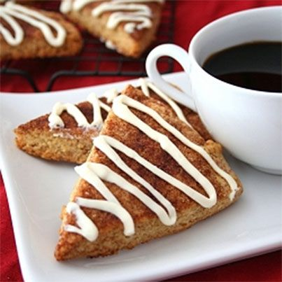 Cinnamon Roll Scones