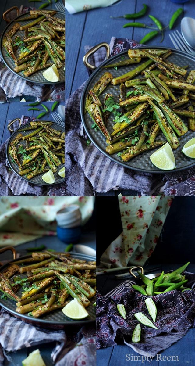 Spiced Okra | Irie Bungalow | Pinterest
