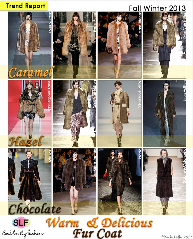 ... Fashion #Trend for Fall Winter 2013 March 11th, 2013 11:31 P.M. GMT