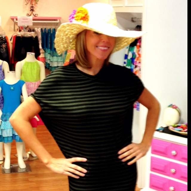 Floppy Beach hats are a MUST!!
